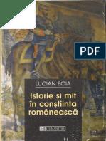 Lucian Boia-Istorie Și Mit În Conștiința Românească