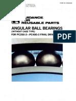 GFRP Angular Ball Bearings