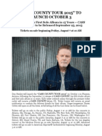 Cass County Tour 2015 Press Release