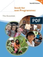 The Essential Handbook for World Vision Development