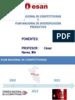 Gestión Nacional Competitividad