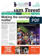 Waltham Forest News 3rd August 2015