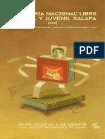 Programa Feria Libro 2015 Xalapa