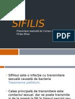 Prezentare Sifilis