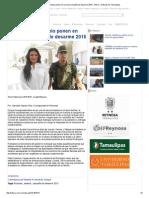 08-01-2015 SEDENA y Municipio Ponen en Marcha Campaña de Desarme 2015