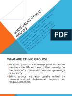 Guatemalan Ethnic Groups