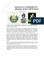 Central America as a Flashpoint for the Destabilization of the United States