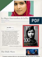 La mujer fomentadora de la Paz en la Política