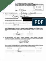 Onondaga County Legislator Monica Williams financial disclosure 2015