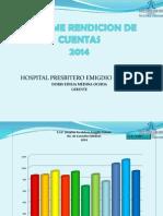 INFORME RENDICION DE CUENTAS HPEM 2014