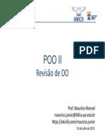 Aula 01 - Revisão de Poo