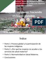 Mujeres indígenas y los servicios de salud materna