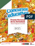 Bases Premio Nacional de La Juventud