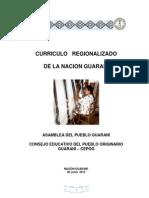 Curriculo Regionalizado de La Nacion Guarani