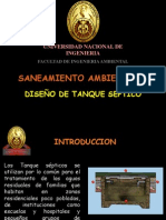 Clase 6 - Diseño de Tanque Séptico, Poza de Percolación