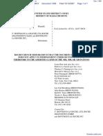 Amgen Inc. v. F. Hoffmann-LaRoche LTD et al - Document No. 1399
