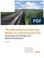 The Microfinance Industry Needs an Infrastructure Fix