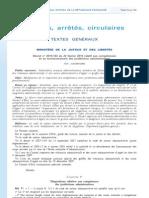 Décret recours refus visas conjoints de Français - Décret n° 2010-164 du 22 février 2010