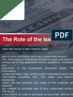 (1) Exempt Market Presentation