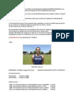 Présentation Championnats Du Monde Athlétisme Masters LYON 2015-1