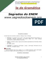 Apostila Português Gramatica ENEM 2013