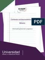 Contexto Socioeconomico de Mexico