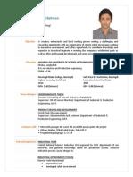 CV of Md Shakilur Rahman
