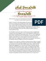 Useful Swahili Words