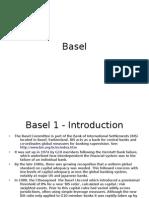 Basel 1 - Introduction