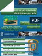 Uso didactico de tabletas en el aula. ENP-UNAM