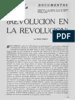 ¿Revolución en La Revolución... en Punto Final. Suplemento, Marzo de 1967 - Regis Debray