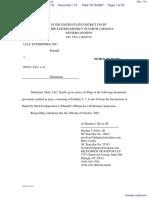 Lulu Enterprises, Inc. v. N-F Newsite, LLC et al - Document No. 114