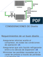 Consideracines de Diseño para tuberias en HVAC