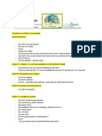 Scenario Présentation Réunion Pays Bas