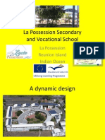Slideshow Welcome to La Possession Secondary and Vocational School
