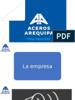 PLAN DE MARKETING ACEROS AREQUIPA