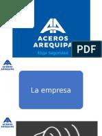PLAN DE MARKETING ACEROS AREQUIPA