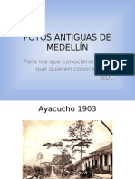 FOTOS ANTIGUAS DE MEDELLÍN