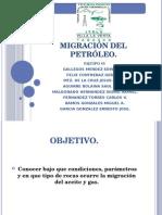 Migración Del Petróleo