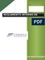 Reglamento Interno de Trabajo Cosesa