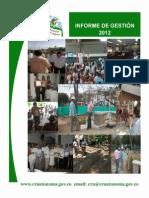 Informe Gestion CRA 2012