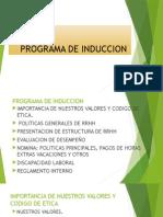 Programa de Induccion