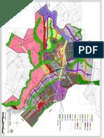 Mapa - Alteração Zoneamento Cambé