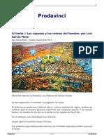 Luis García Mora - Los Saqueos y Los Rostros Del Hambre
