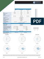 Amphenol - CBXA1710658R - Specifications Sheet