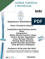 INFORME DE ADMINISTRACION FERRETERIA VEMACO.docx