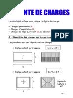 02 Exemple de Descente de Charges