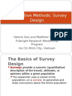 Quantitative Methods research