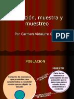 Poblacion y muestra tesis