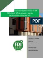 Proyecto Instalación Eléctrica BT 17 Vdas y Garaje FDI